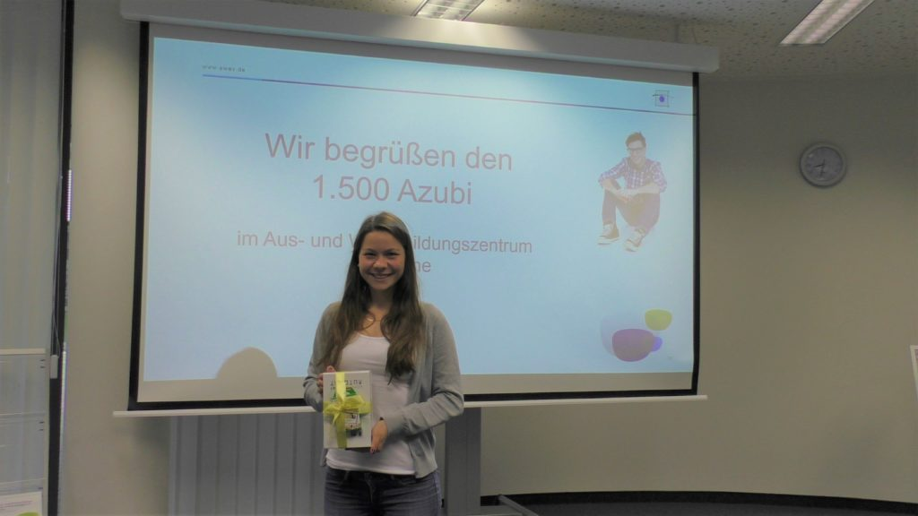 1.500ster-Azubi in Karlsruhe