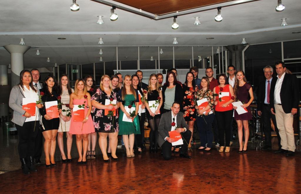 Abschlussfeier Bruchsal 2015 Klasse 1
