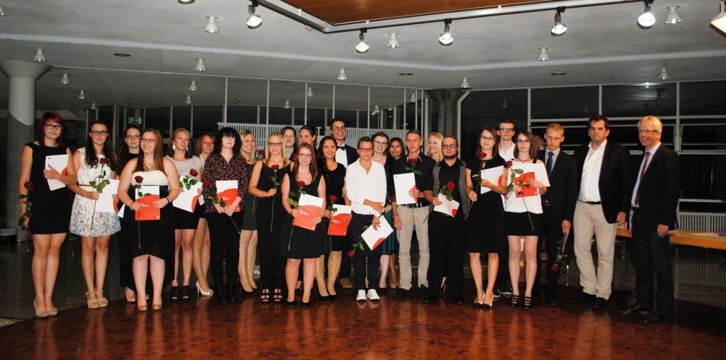 Abschlussfeier Bruchsal 2015 Klasse 3