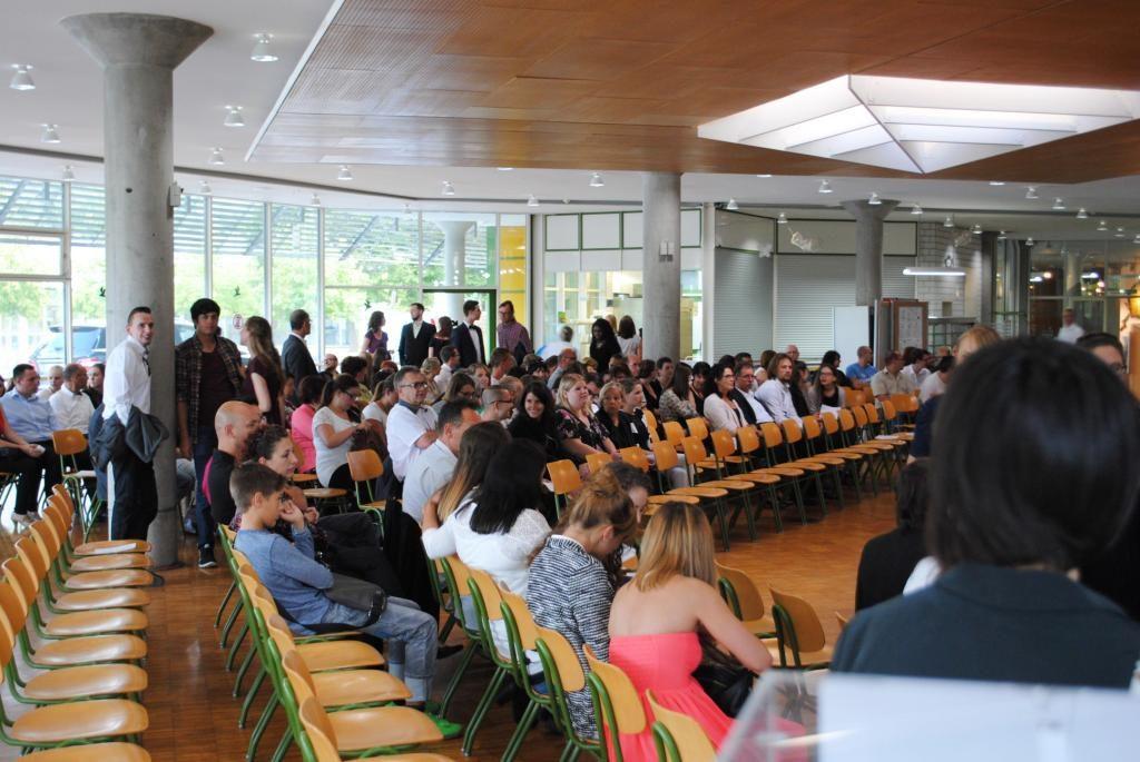 Abschlussfeier Bruchsal 2015 Schulsaal