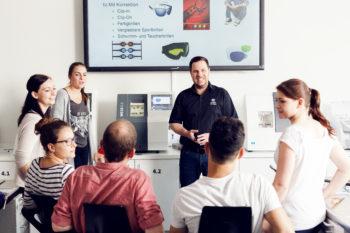 Ein Kurs im Aus- und Weiterbildungszentrum Karlsruhe