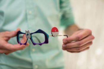 Die Siegerbrille von Patrick Esper zum Thema Pokémon Go (ZVA/Suburban Productions)