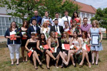 Berufsschulklasse 12a der BBS Bad Dürkheim (Fotohinweis: Foto Stepan)