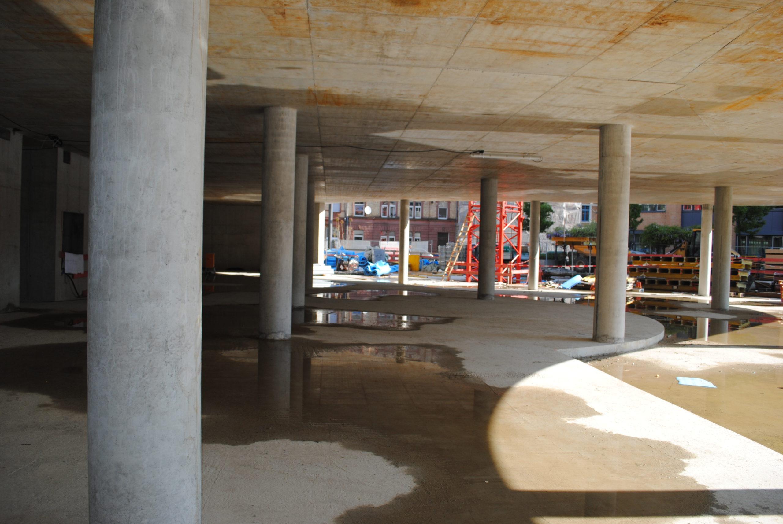 Das Synus-Gebäude im Bau - Noch wenige Monate bis zur Eröffnung