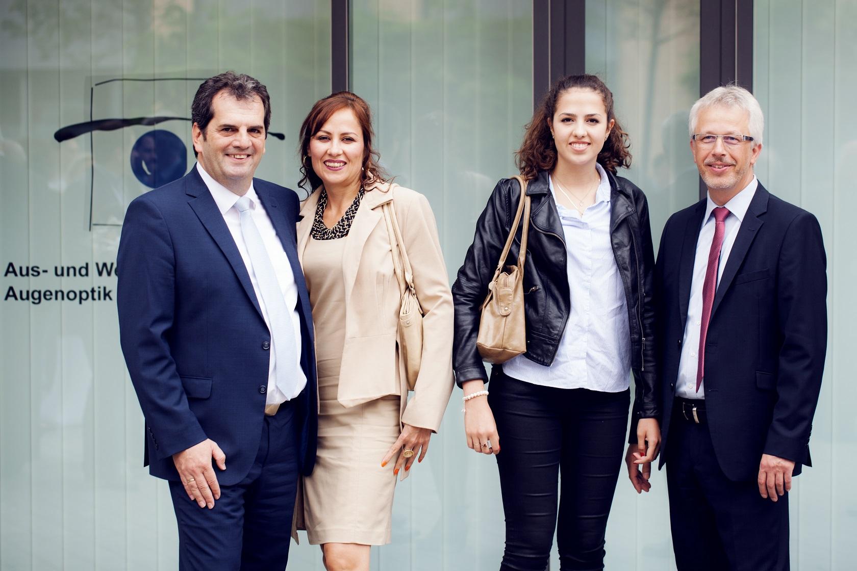 Feierliche Eröffnung Familie Kupczyk