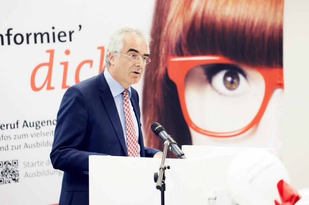 Feierliche Eröffnung Festrede Ministerialdirektor Guido Rebstock