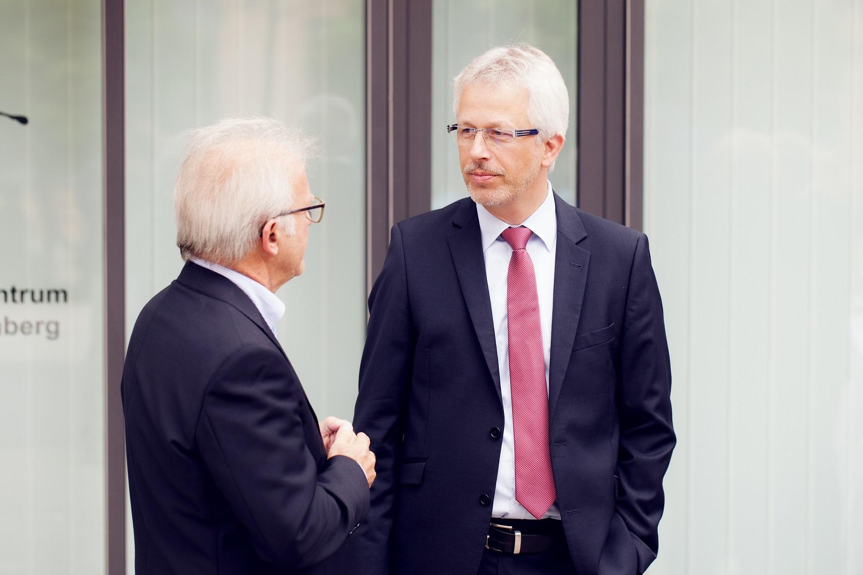 Feierliche Eröffnung Matthias Müller im Gespräch