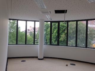 Das Synus-Gebäude im Bau - Innenräume ohne Anstrich