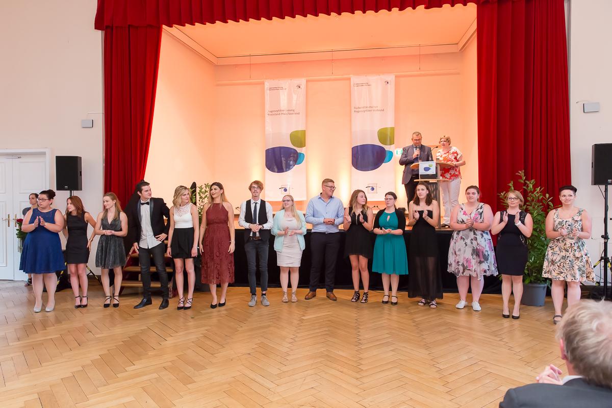 Freisprechungsfeier 2017 Mainz Applaus Klasse A der Berufsschule Bad Dürkheim