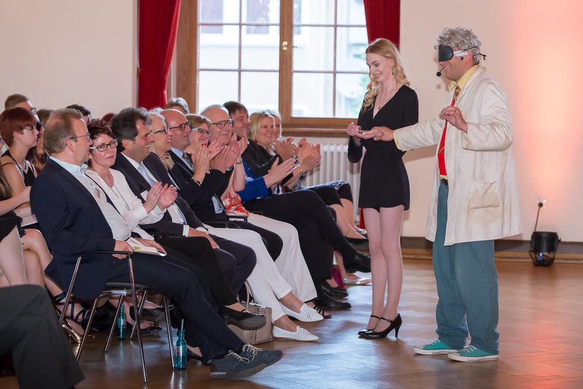 Freisprechungsfeier 2017 Mainz Applaus für die Show