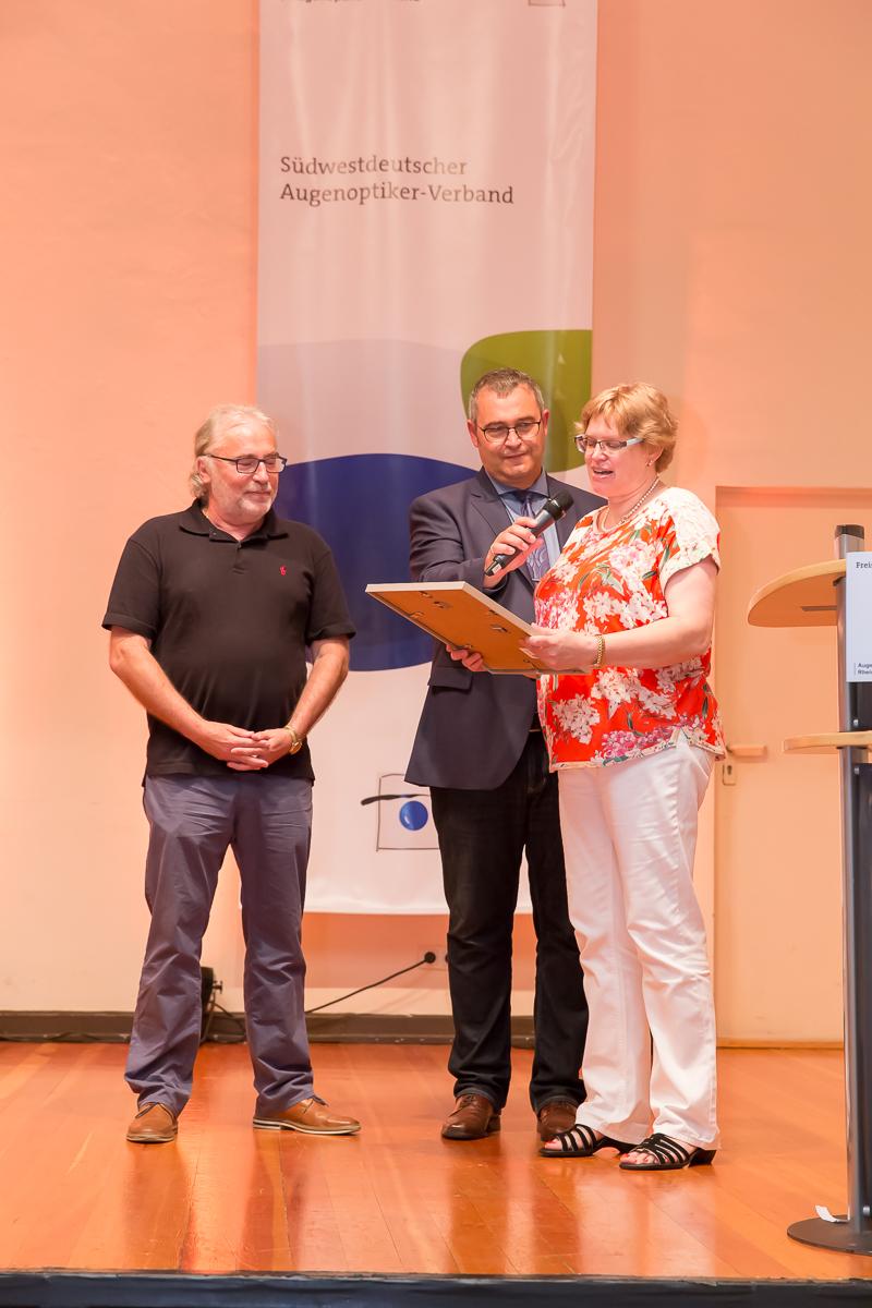 Freisprechungsfeier 2017 Mainz Auszeichnung Ehrennadel Axel Schumacher