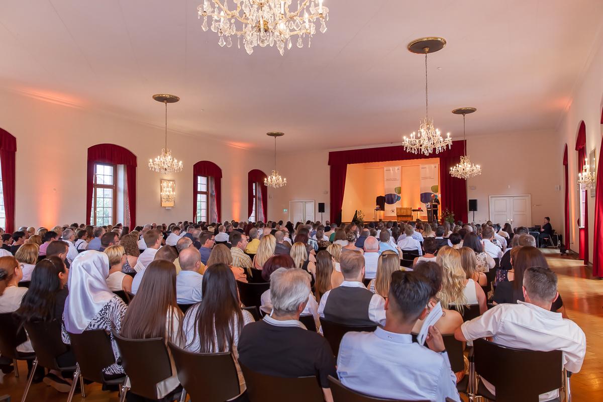 Freisprechungsfeier 2017 Mainz Der gefüllte Forstersaal im Kurfürstlichen Schloss