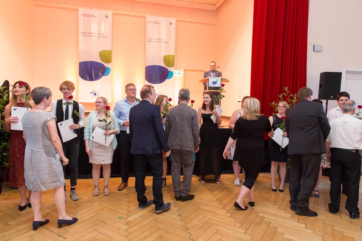 Freisprechungsfeier 2017 Mainz Gratulation Berufsschule Bad Dürkheim Klasse A