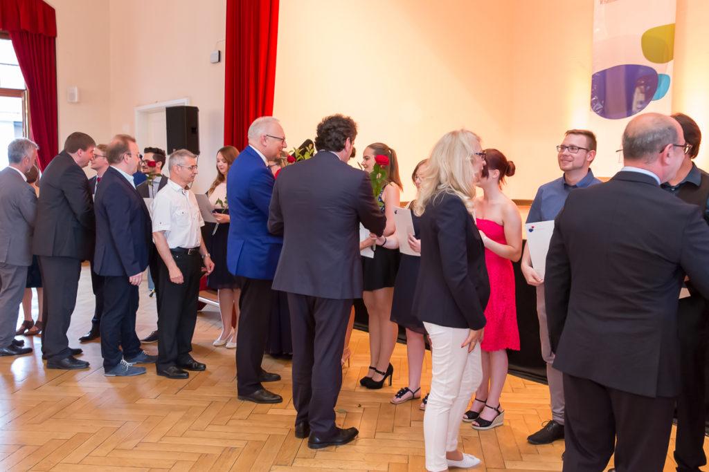Freisprechungsfeier 2017 Mainz Gratulation Berufsschule Bad Dürkheim Klasse B