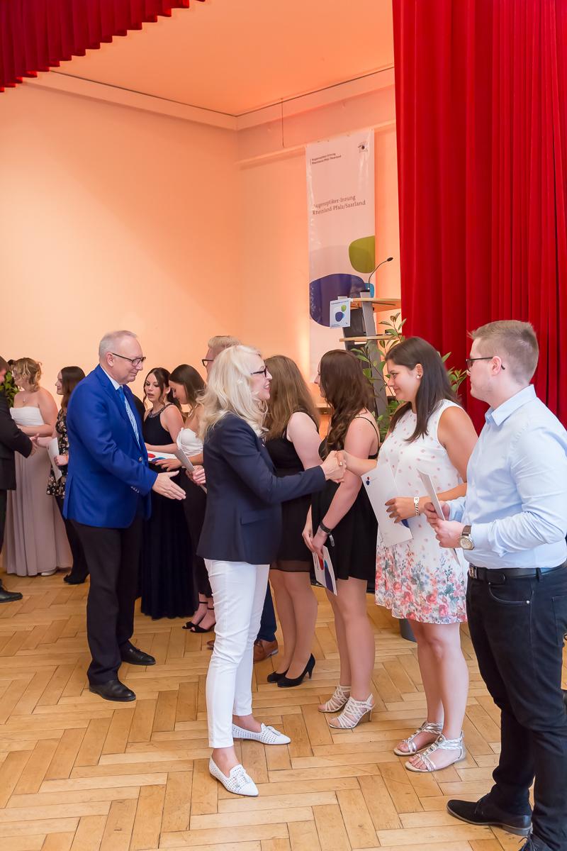 Freisprechungsfeier 2017 Mainz Gratulation Berufsschule Koblenz Klasse B