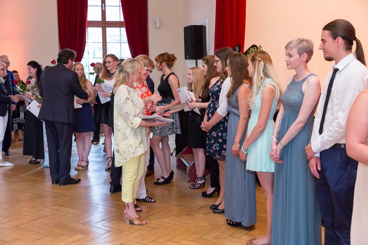 Freisprechungsfeier 2017 Mainz Berufsschule Koblenz Klasse A