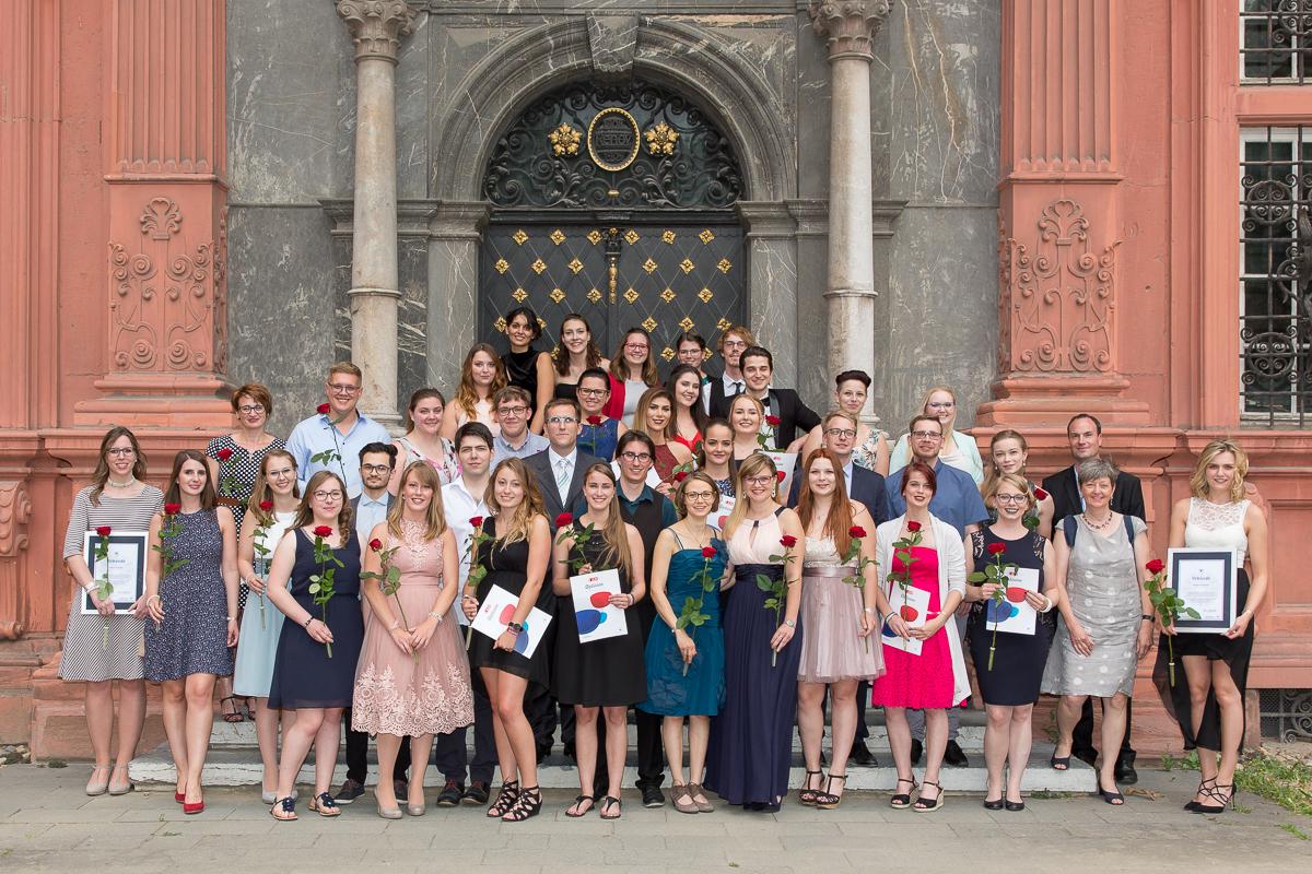 Freisprechungsfeier 2017 Mainz Schulfoto Bad Dürkheim