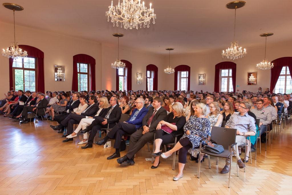 Freisprechungsfeier 2017 Mainz Die Gäste im Forstersaal
