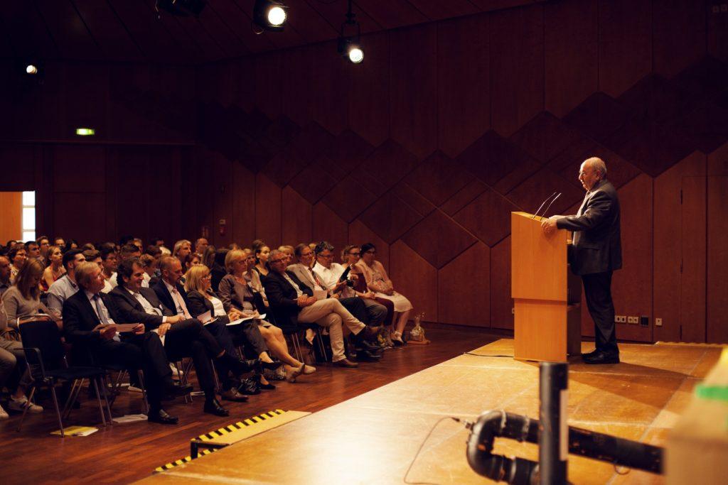 Freisprechungsfeier Bruchsal 2017 Begrüßung Herbert Schäffner