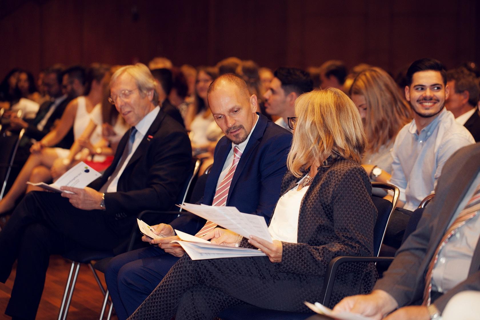 Freisprechungsfeier Bruchsal 2017 Dr. Jakob und Ingrid Lehr-Binder