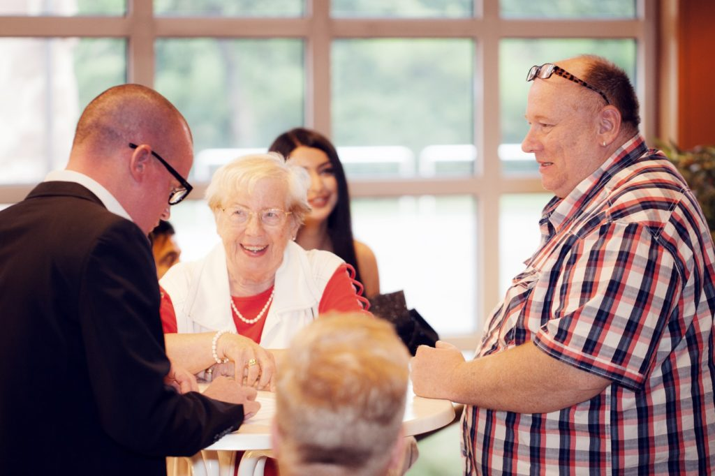 Freisprechungsfeier Bruchsal 2017 Einlass Gäste