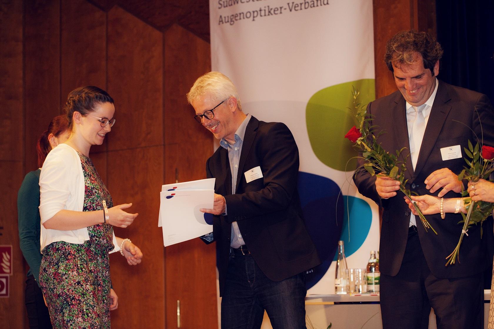 Freisprechungsfeier Bruchsal 2017 Gesellenbrief