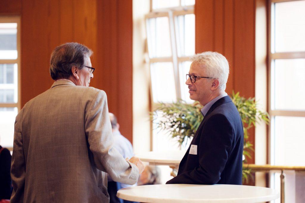 Freisprechungsfeier Bruchsal 2017 Gespräche