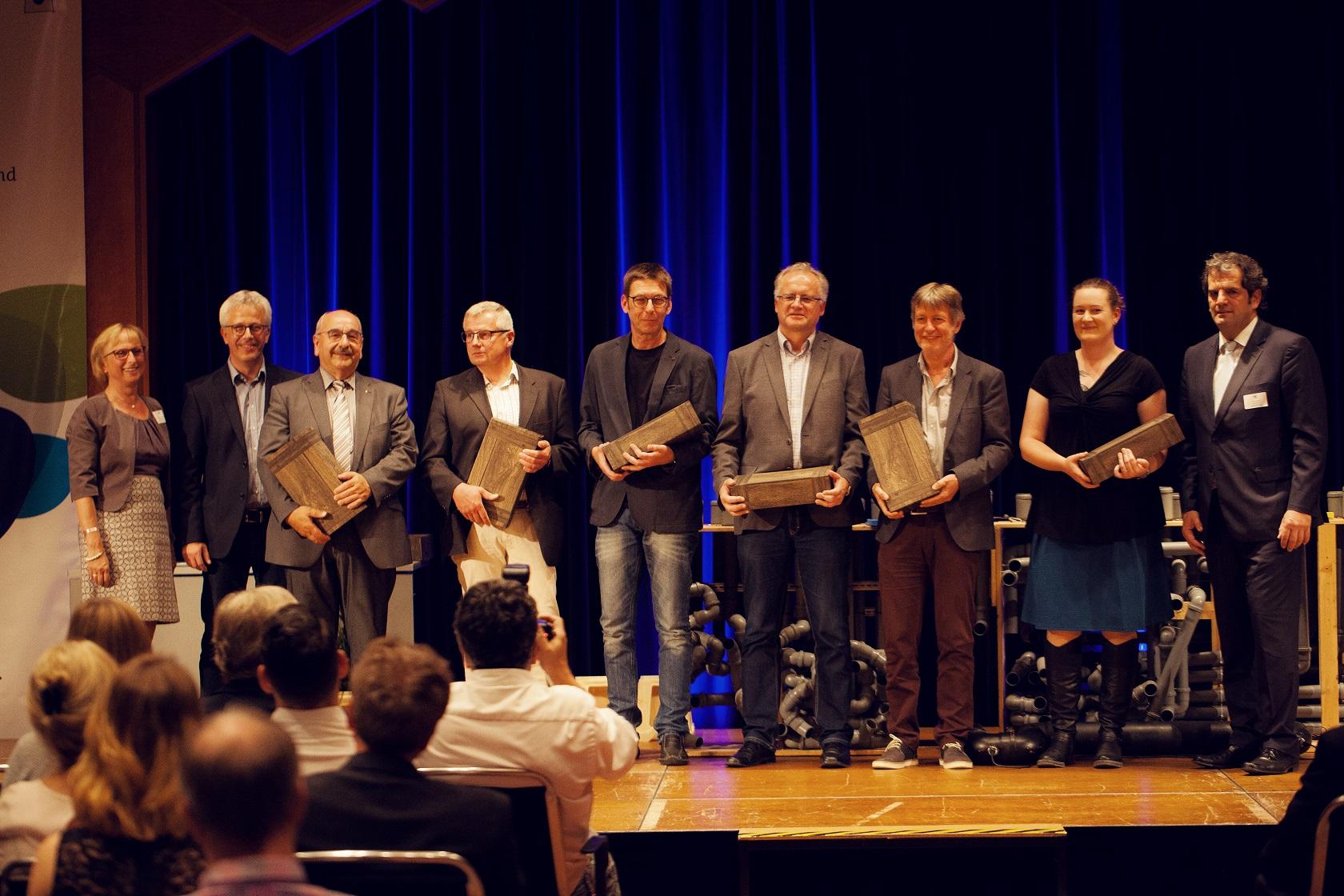 Freisprechungsfeier Bruchsal 2017 Vertreter der Berufsschule