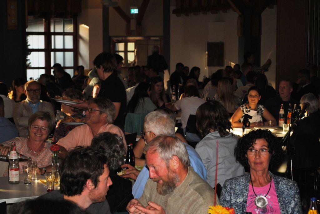 Freisprechungsfeier Freiburg 2015 Gespräche