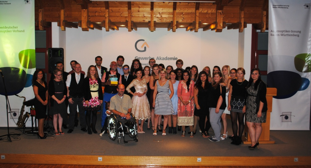 Freisprechungsfeier Freiburg 2015 Klassenbild