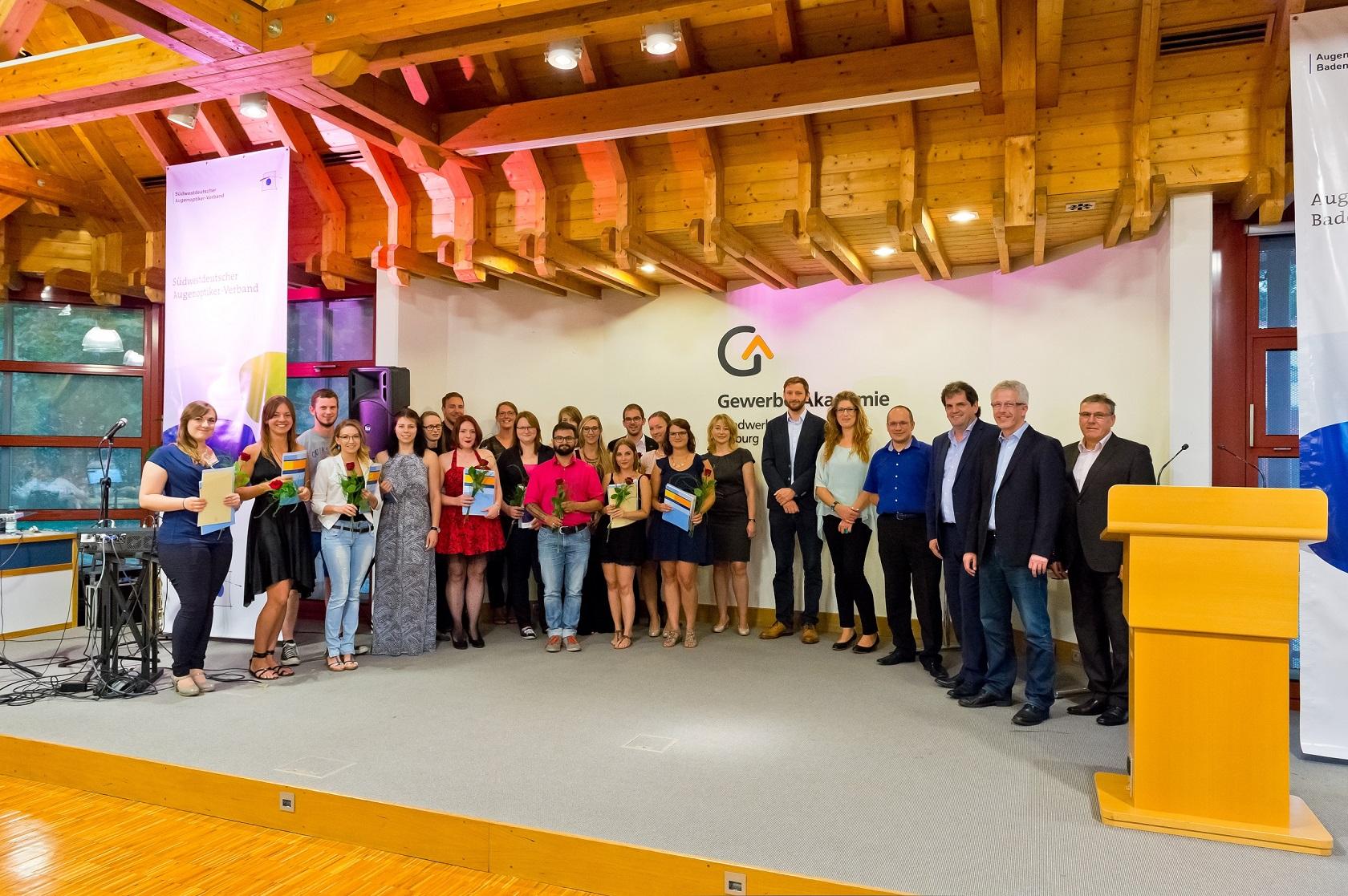 Freisprechungsfeier Freiburg 2016 Klasse 3