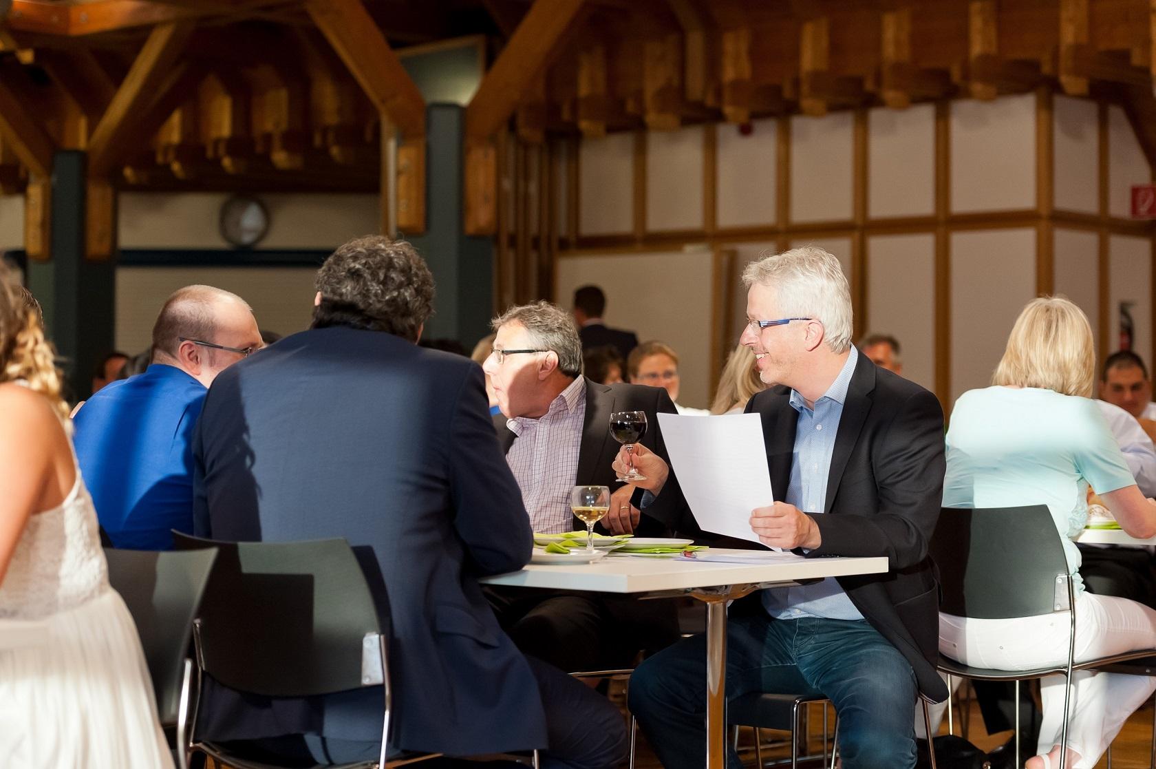 Freisprechungsfeier Freiburg 2016 Matthias Müller bereitet sich vor