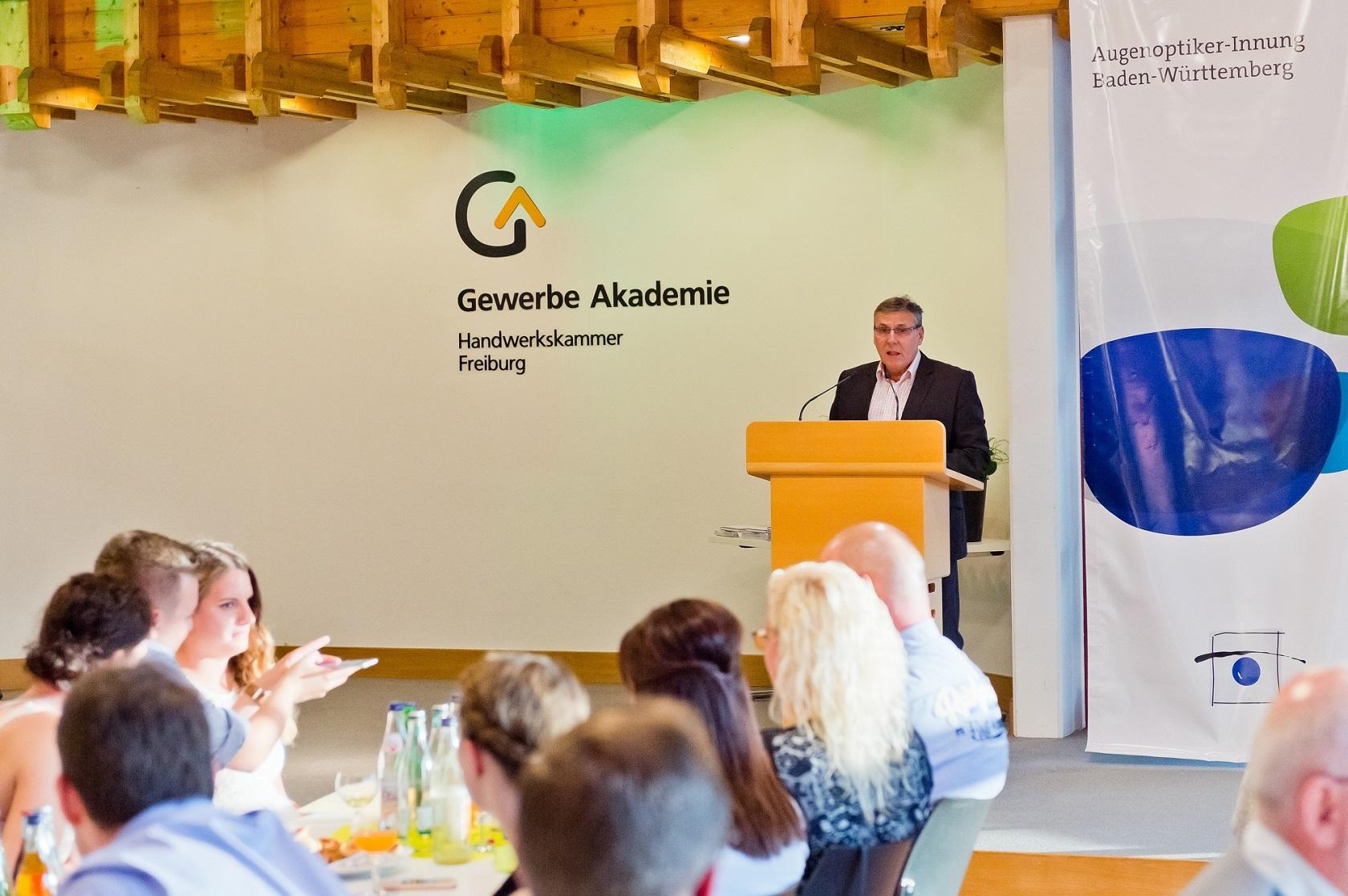 Freisprechungsfeier Freiburg 2016 Rede Siegfried Böhringer