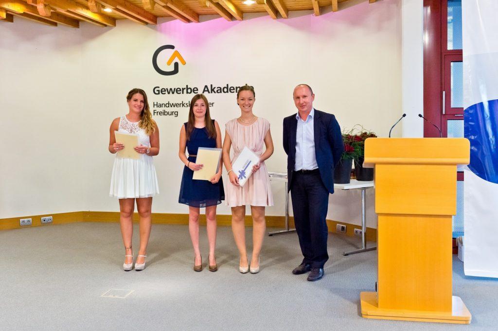 Freisprechungsfeier Freiburg 2016 Die Schulbesten