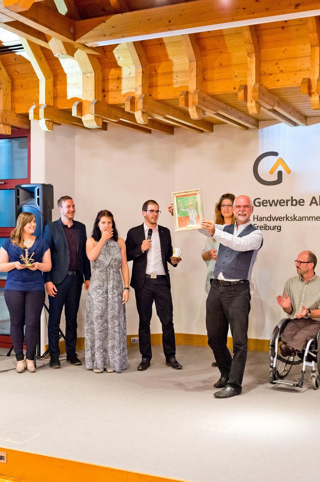 Freisprechungsfeier Freiburg 2016 Verabschiedung Lehrer