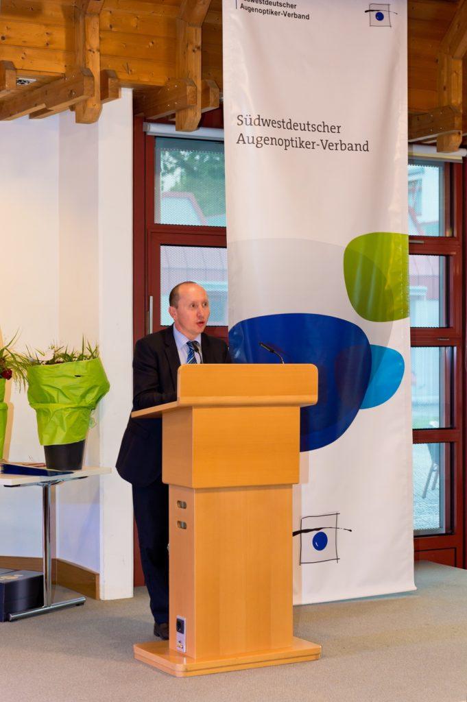 Freisprechungsfeier Freiburg 2017 Begrüßung Axel Klär