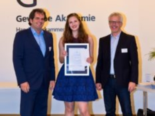 Freisprechungsfeier Freiburg 2017 Drittbeste in BW