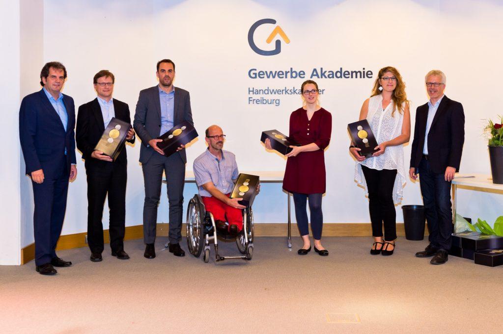 Freisprechungsfeier Freiburg 2017 Lehrergeschenke