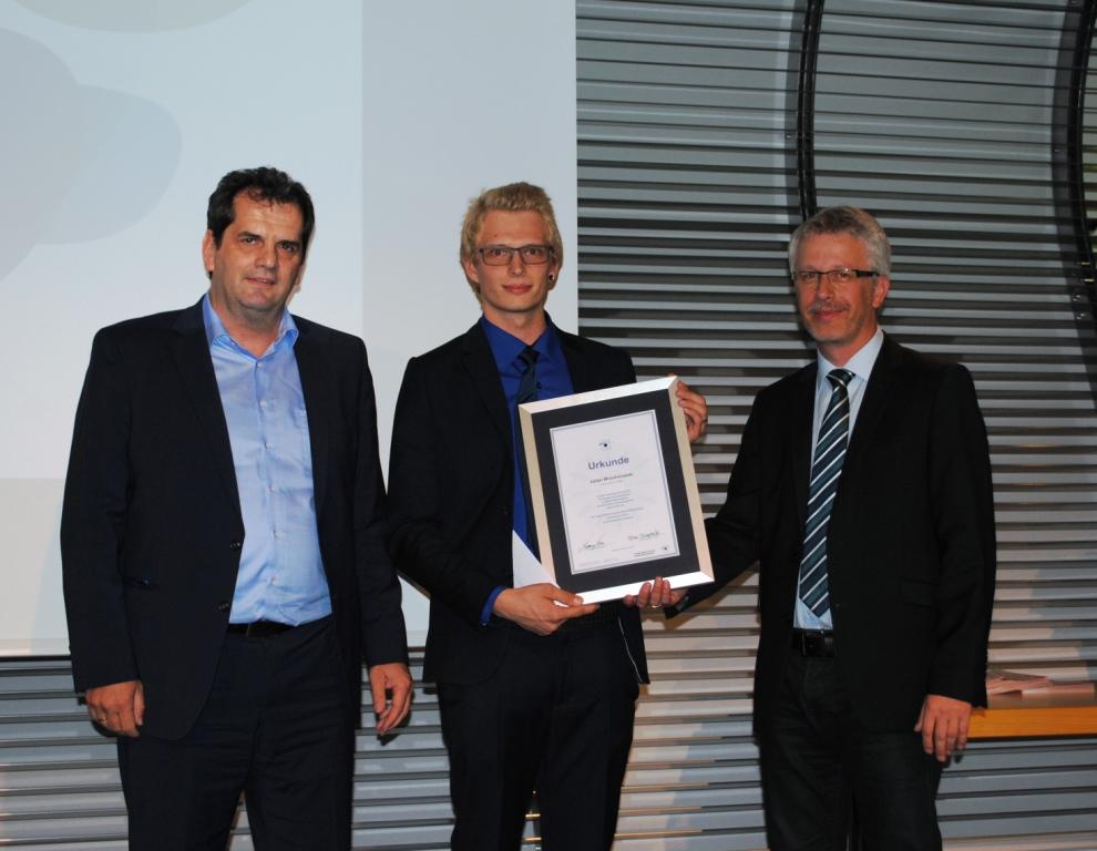 Freisprechungsfeier Leonberg 2015 Auszeichnung