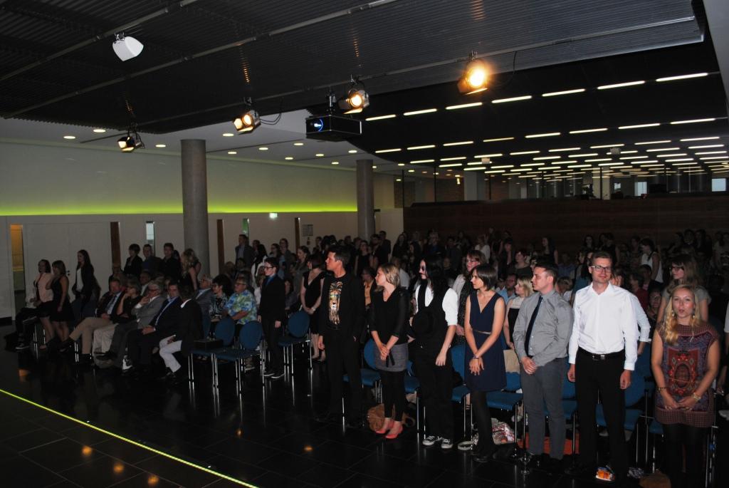 Freisprechungsfeier Leonberg 2015 Freisprechung