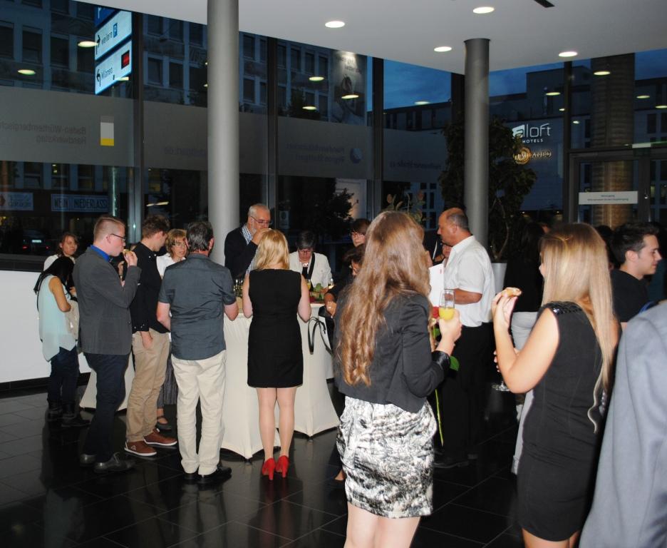 Freisprechungsfeier Leonberg 2015 Get-together