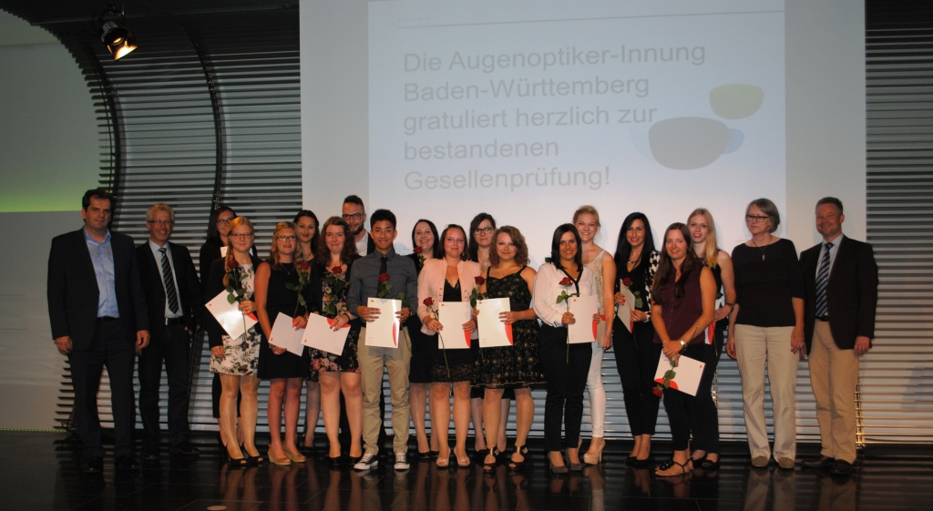 Freisprechungsfeier Leonberg 2015 Klasse 4