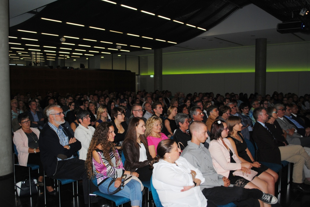 Freisprechungsfeier Leonberg 2015 Zuhörer