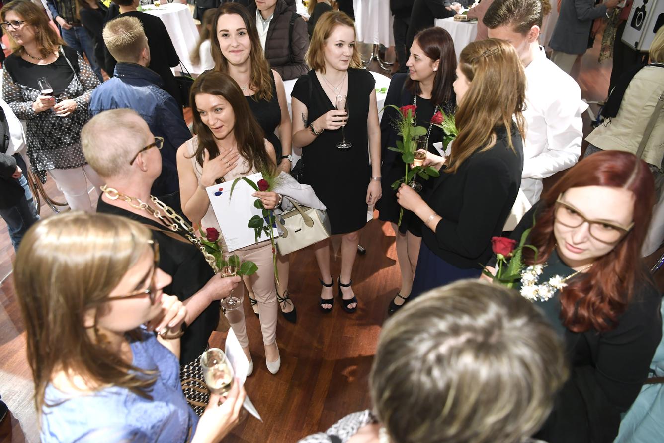 Freisprechungsfeier Leonberg 2017 Gespräche 2