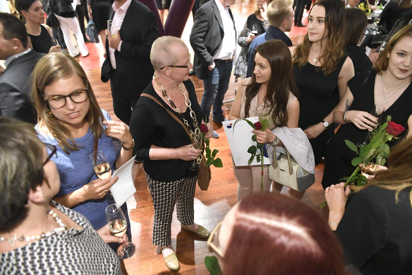 Freisprechungsfeier Leonberg 2017 Gespräche