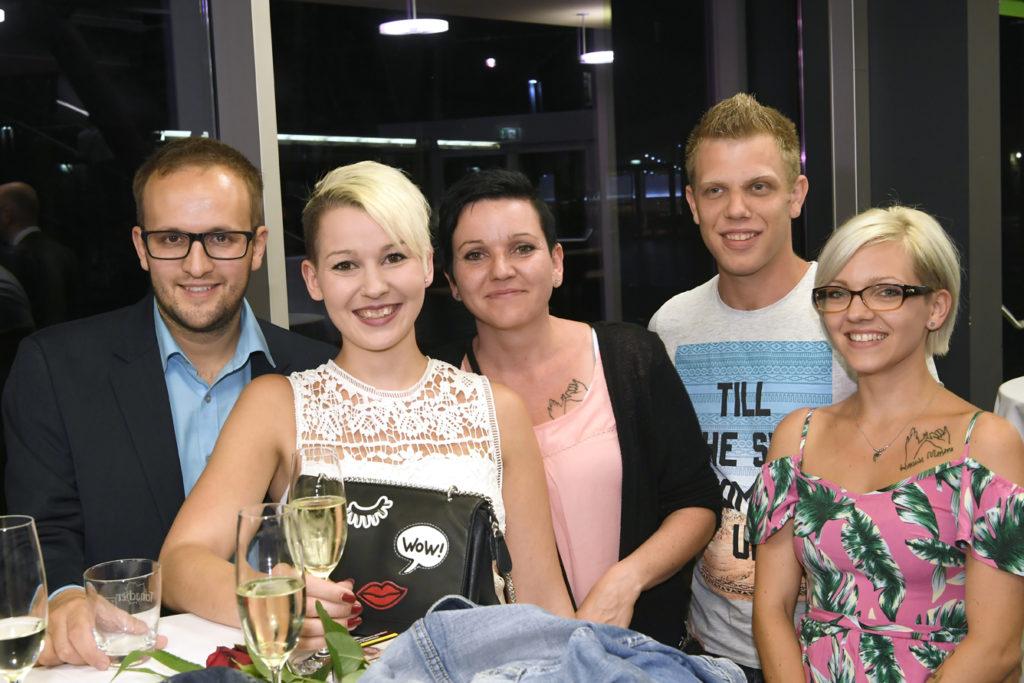 Freisprechungsfeier Leonberg 2017 Glückliche Familie