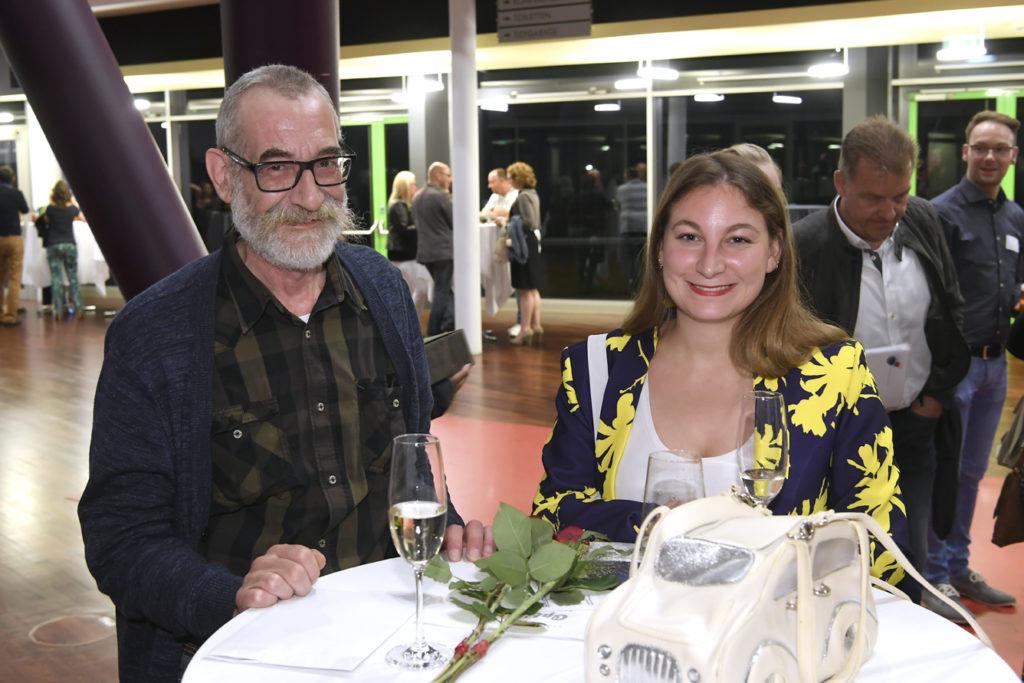 Freisprechungsfeier Leonberg 2017 Ein Glas Sekt