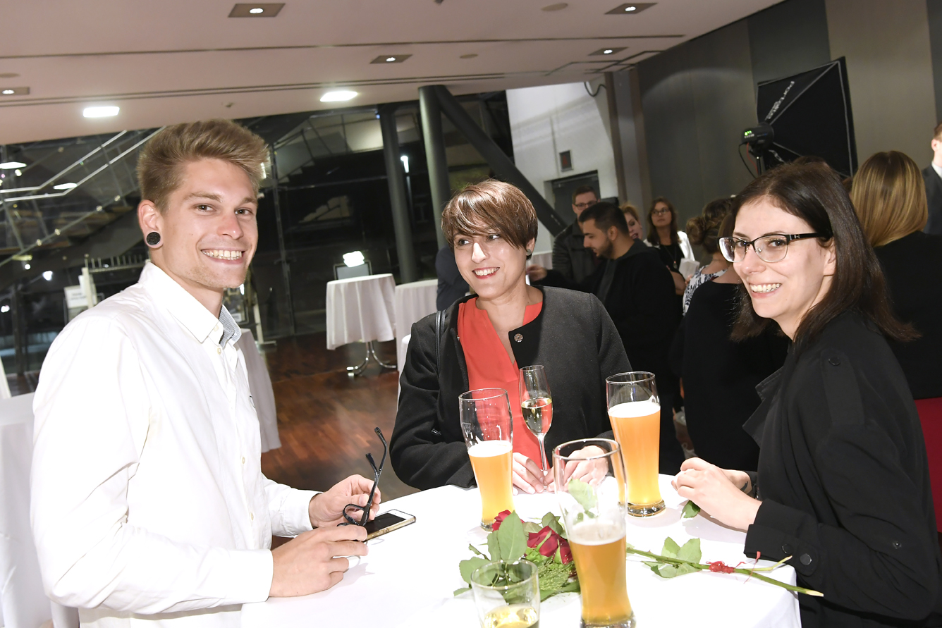 Freisprechungsfeier Leonberg 2017 Junggeselle freut sich