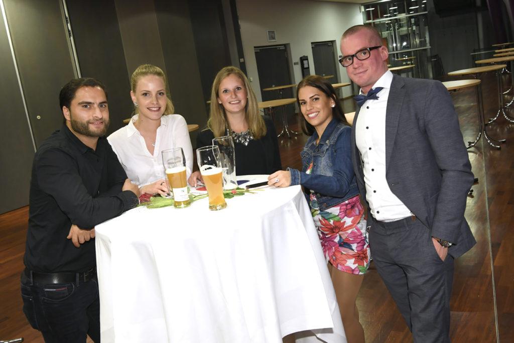 Freisprechungsfeier Leonberg 2017 Junggesellen und Ausbilder
