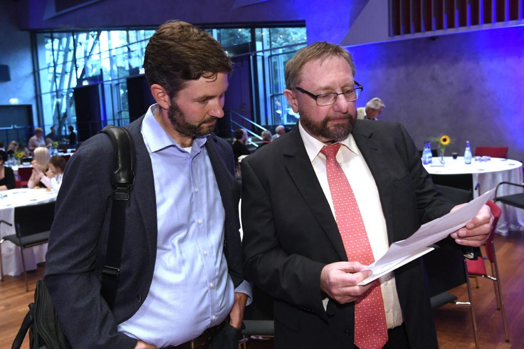 Freisprechungsfeier Leonberg 2017 Dr. Stefan Baron und Bertram Pelkmann